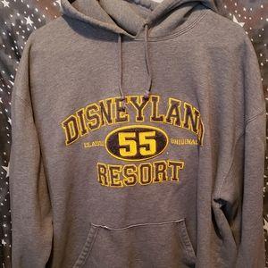 Disneyland Resort Hoodie Gray XXL Retro